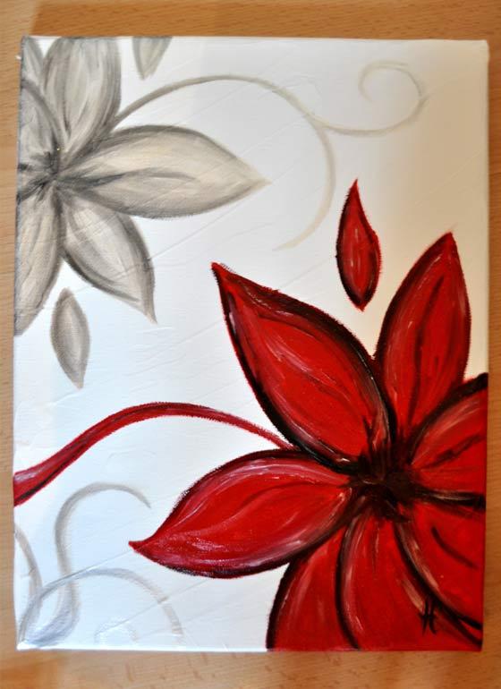 Lovely Dessin De Fleurs A Peindre 5 Mes Peintures Fleurs Helvia Co